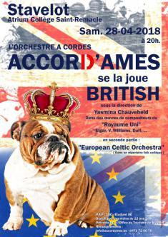 L'Orchestre à Cordes Accord'Âmes se la joue British