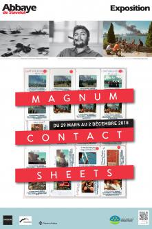 Exhibition - Magnum Contact Sheets