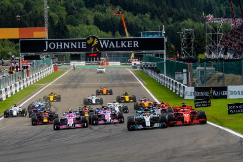 Grand Prix van België voor Formule 1