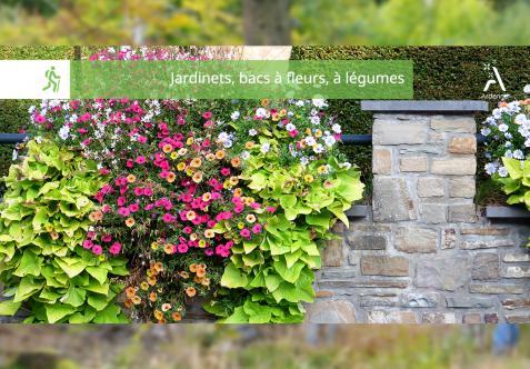 Balade Nature Guidée - Jardinets, bacs à fleurs, à légumes