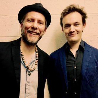 Concert blues en plein air : Guy Verlinde duo