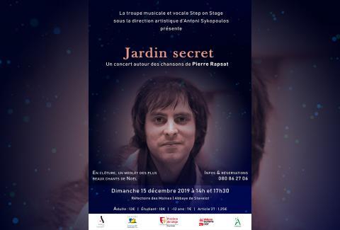 Concert « Jardin Secret »