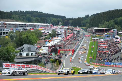 Racetrack of Francorchamps