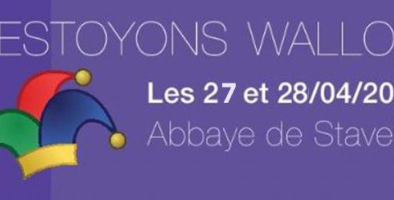 Festoyons Wallon - Affiche